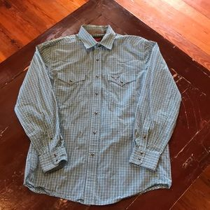 Wrangler Relentless Pearl Snap Shirt
